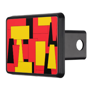Geometric Pleasure Trailer Hitch Cover