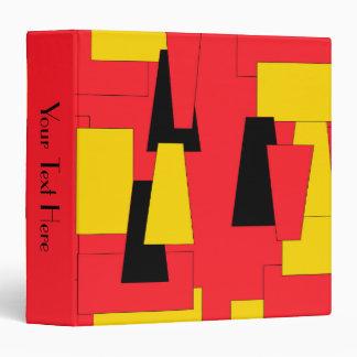 Geometric Pleasure Vinyl Binder