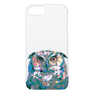 Geometric Pop Art Owl Phone Case