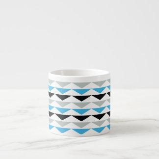 Geometric Print Espresso Cup