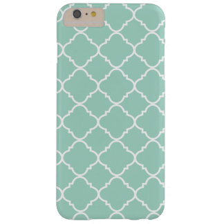 Geometric quatrefoil barely there iPhone 6 plus case