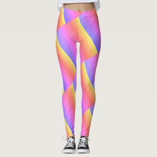 Geometric Rainbow Leggings