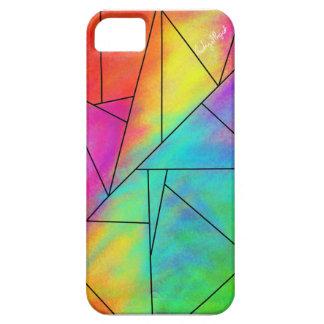 Geometric Rainbow Phone Case