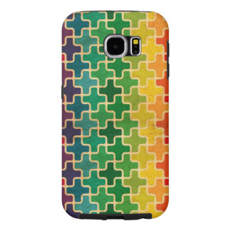 Geometric Rainbow Samsung Galaxy S6 Case