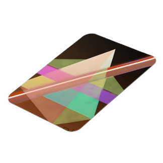 Geometric Rectangular Photo Magnet