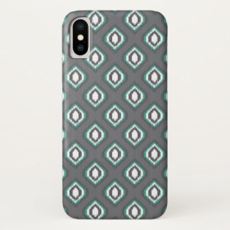 Geometric retro ikat tribal pattern iPhone x case
