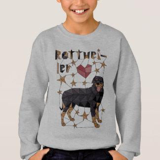Geometric Rottweiler Sweatshirt