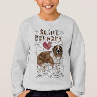 Geometric Saint Bernard Sweatshirt