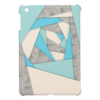 Geometric Shapes Abstract iPad Mini Cover