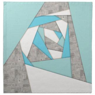 Geometric Shapes Abstract Napkin