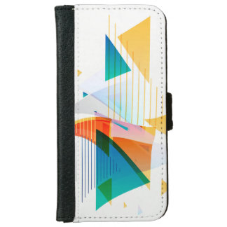 Geometric shapes iPhone 6 wallet case
