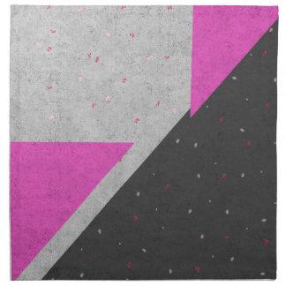 Geometric Shapes Pattern Napkin