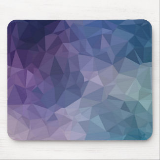 Geometric Shapes-Pink, Lavender, Teal, Mauve Mouse Pad