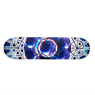 Geometric Shapes Skate Deck