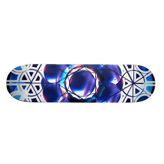 Geometric Shapes Skate Deck