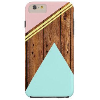 Geometric & Simple Tough iPhone 6 Plus Case