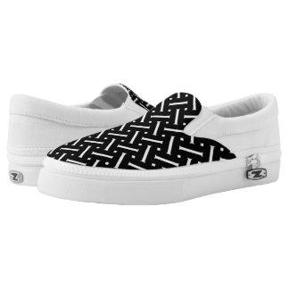 geometric Slip-On sneakers