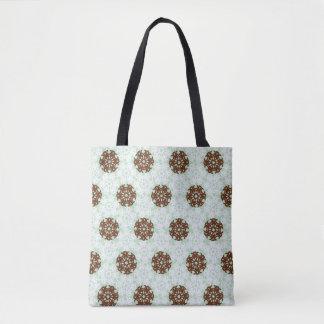 Geometric Snowflakes Tote Bag