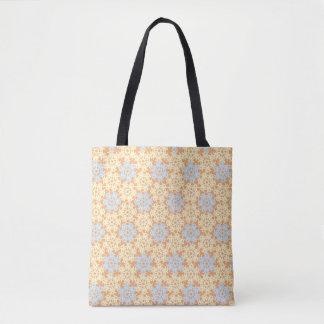 Geometric Snowflakes V1 Tote Bag
