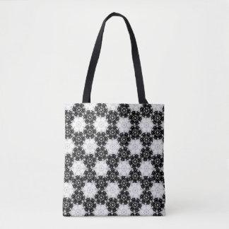 Geometric Snowflakes V3 Tote Bag