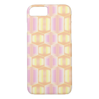 Geometric Soft Colored Pattern iPhone 7 Case