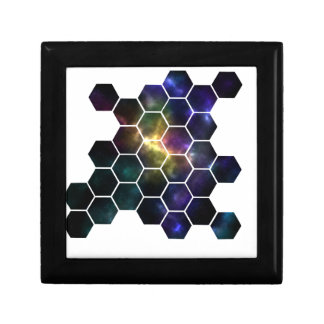 geometric space gift box