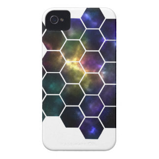 geometric space iPhone 4 covers