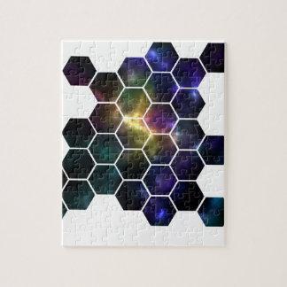 geometric space jigsaw puzzle