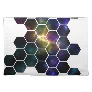 geometric space placemat