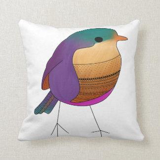 Geometric Sparrow Pillow