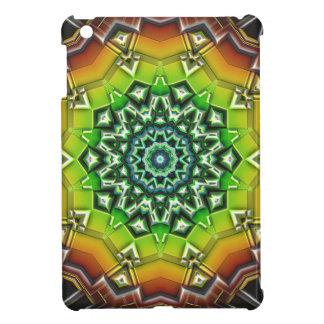 Geometric Spectral Construct iPad Mini Cover