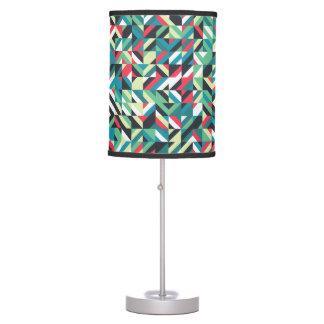 Geometric Square Pattern Table Lamp
