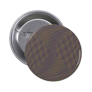 Geometric Squares 2 Inch Round Button