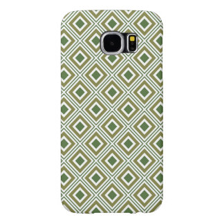 geometric squares pattern natural colors samsung galaxy s6 cases