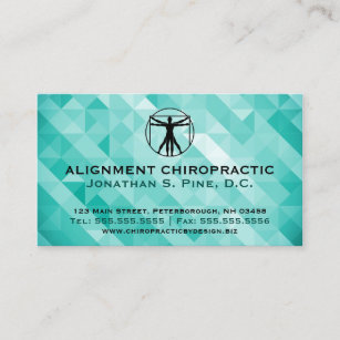 Chiropractic business cards business card printing zazzle ca geometric standard chiropractic business cards colourmoves