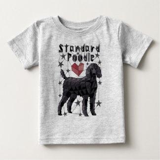 Geometric Standard Poodle Baby T-Shirt