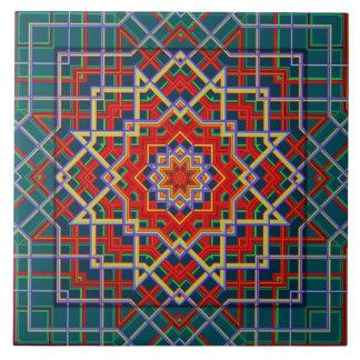 Geometric  Star Tile