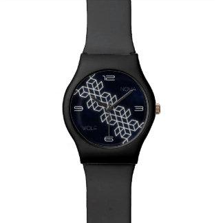 Geometric stripe watch