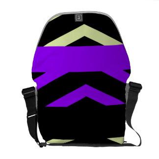 Geometric Stripes Commuter Bags