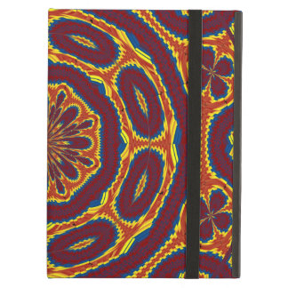 Geometric tapestry case for iPad air