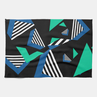 geometric tea towle kitchen towel
