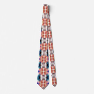 Geometric Textural Abstract Tie