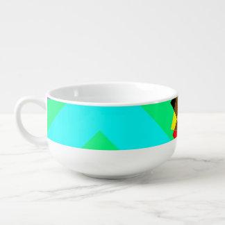 Geometric Thought Soup Mug