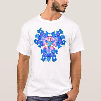 Geometric Thoughts (blue) T-Shirt