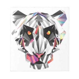 Geometric Tiger Notepads