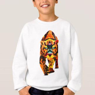 Geometric Tiger Prowl Sweatshirt