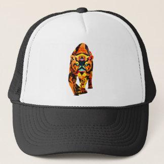 Geometric Tiger Prowl Trucker Hat