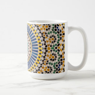 Geometric tile pattern, Morocco Coffee Mug