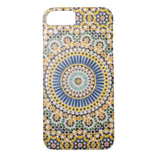 Geometric tile pattern, Morocco iPhone 8/7 Case