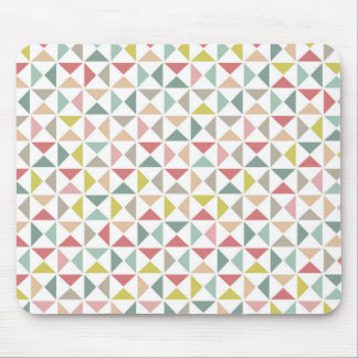 Geometric Triangles Mouse Pad